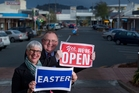 Rotorua mayor Steve Chadwick and Chamber of Commerce chief executive Darrin Walsh support Rotorua retailers having the choice to open over Easter.