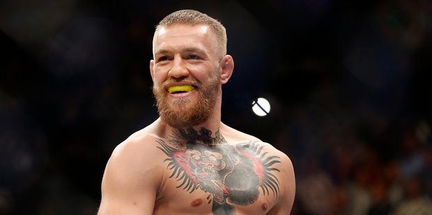 Loading Irish fighter Conor McGregor. Photo / AP