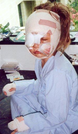 Carolina after the attack.