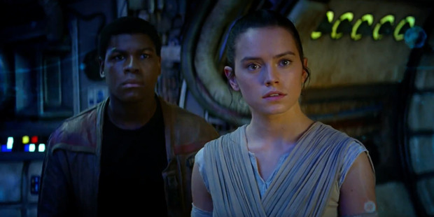 Loading Fans have speculated that Rey is the daughter of Jedi Master Luke Skywalker.