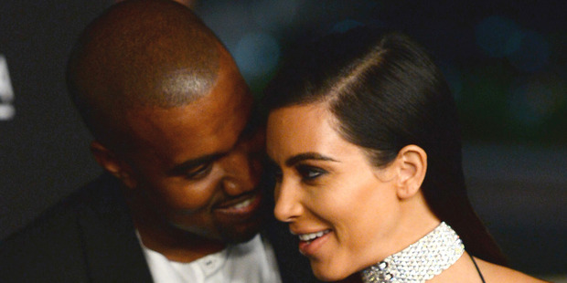 Kim and Kanye began dating in April, 2012 and married in Italy in May, 2014. Photo / Jordan Strauss (Invision/AP)