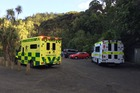 An emergency call was made about 3.15pm for an ambulance. Photo / Daniel Hines
