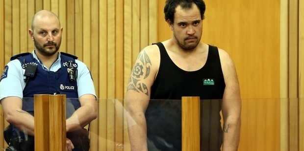 Carlos Bushell, 29, appeared in the High Court at Whanganui before Justice Rebecca Ellis today. Photo / Wanganui Chronicle