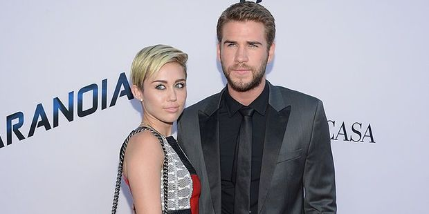 Miley Cyrus first sparked rumours she reconciled with her ex-fiance Liam in December. Photo / Getty Images