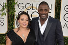 Actor Idris Elba with ex wife Naiyana Garth. Photo / Getty Images