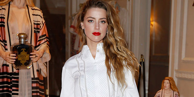 Amber Heard in London, England. Photo / Getty Images