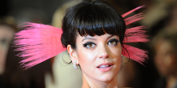 Singer Lily Allen said she was terrorised by a stalker and the police made her feel like a 'nuisance'. Photo / Getty Images