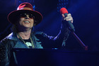 Axl Rose will join the Aussie rockers on their European tour, which kicks off in Lisbon, Portugal on May 7 and finishes up in Denmark on June 12. Photo / Getty Images