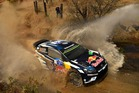 Sebastien Ogier during the Shakedown of the WRC Mexico. Photo / Getty Images