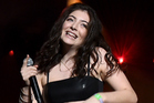 Guest singer Lorde performs onstage during the Disclosure show at Coachella. Photo / Getty Images