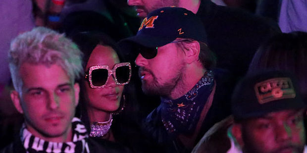 Singer Rihanna and actor Leonardo DiCaprio keeping a low profile at the Neon Carnival. Photo / Getty Images