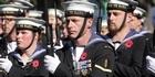 Navy on parade