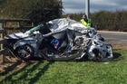 The scene of the Matamata crash. Photo / Supplied