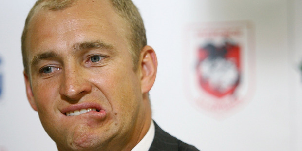 Loading Newcastle Knights coach Nathan Brown. Photo / Getty