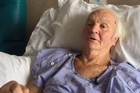 An 82-year-old Waikato man who miraculously survived being zapped by 14,000 volts after pruning a tree has a long road to recovery.