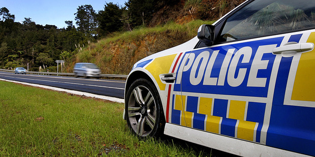 A learner driver being pursued by police allegedly rammed into three patrol cars. Photo / File