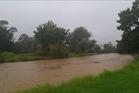 Heavy rain and flooding on the Coromandel peninsula. Photo / Supplied
