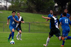 Josh Nelson scored one of Tauranga City United's goals in the 2-1 win over Bay Olympic. Photo/George Novak