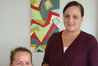 Chelsie Robertson (left) and Amy Wray are the new Community Lactation Consultants for Lakes DHB.  Photo/Supplied