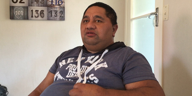 Loading Cleaner Jason Matahiki suffered a serious workplace injury when a meat hook went through the side of his head. Photo / Mike Scott