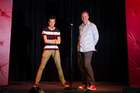 Comedian's son following in his dad's funny footsteps