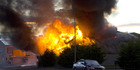Large house fire in Invercargill