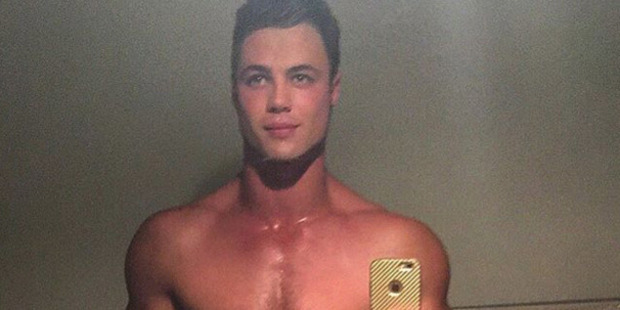 "Josh Lepage, aka ""Tommy the Ticklish Kiwi"". Photo via Instagram"