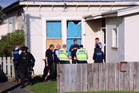 CALL-OUT: Police at a Miro St address in Whanganui yesterday. PHOTO/STUART MUNRO