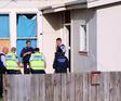 Police at the scene. Photo / Stuart Munro