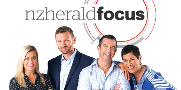 Loading NZHerald Focus team - Laura McGoldrick, Tony Veitch, Tristram Clayton and Niva Retimanu.