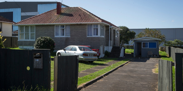 Loading Property records show Hughes bought 51 Lynton Rd, a ramshackle Mt Wellington house, in a private sale early last year for a bargain at $100,000 below CV. Photo / Greg Bowker