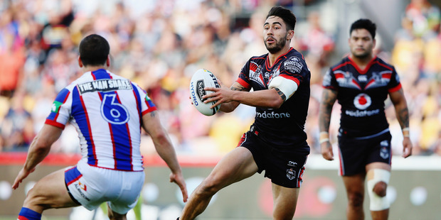 Loading Shaun Johnson put out a call on social media for teams in need of a waterboy at a grassroots footy game. Photo / Getty Images
