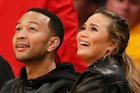 Musician John Legend and model Chrissy Teigen have welcomed their first child. Photo / AP