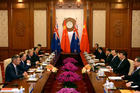 New Zealand will get a better deal from its Free Trade Agreement with China, John Key says. Photo / AP