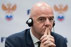 FIFA President Gianni Infantino. Photo / AP