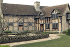 The restored 16th century home where it's believed William Shakespeare was born in 1564. Photo / AP
