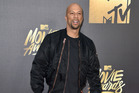 Common arriving at this year's MTV Movie Awards. Photo / Jordan Strauss/Invision/AP