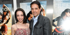 Actor Ralph Macchio and daughter Julia Macchio. Photo / AP