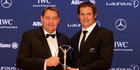 Feted in Berlin as team of the year at the Laureus World Sports Awards, Richie McCaw's side beat off some formidable opposition. Photo / AP