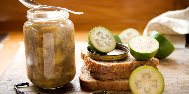 Feijoa jam is just one of 10 things you can make with the humble fruit. Photo/file