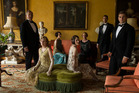 Downton Abbey finale covered the period finished with the servants and the aristocrats singing Auld Lang Syne at the stroke of midnight.