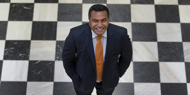 Kris Faafoi's elevation is a reward for his work in the State Services portfolio, in which he has had a number of hits on Government spending. Photo / Mark Mitchell