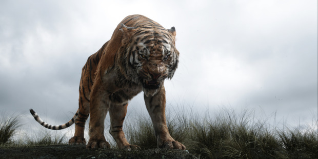 Shere Khan in a scene from The Jungle Book.