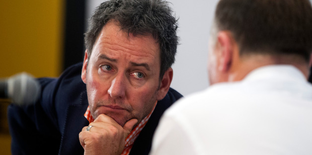 Newstalk ZB's Mike Hosking - tough but fair. Photo / Jason Oxenham
