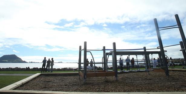 Council opens elders gym at Kulim Park. Photo/John Borren