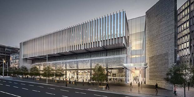 Impression of the New Zealand International Convention Centre.