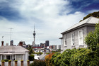Experts believe Auckland's housing crisis may be lowering the city's birth rate, as young adults shut out of buying homes are forced to live with their parents. Photo / Doug Sherring