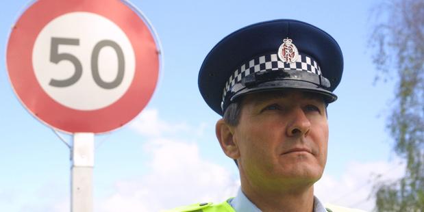 Western Bay of Plenty head of road policing Ian Campion. Photo/file