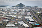 Aerial view of Mount Maunganui. Photo/File