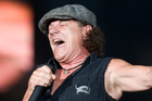 AC/DC vocalist Brian Johnson says he's not going anywhere. Photo / Mark Mitchell